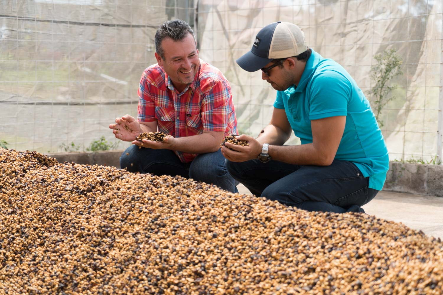 Luis Arocha and Oscar Chacon of Las Lajas Micromill